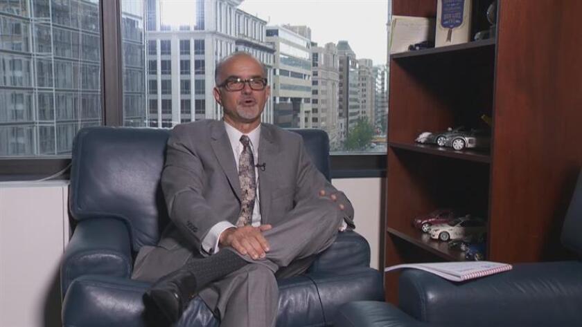 Fotograma donde se observa a Jorge da Silva, Auditor Ejecutivo del Banco Interamericano de Desarrollo (BID), durante una entrevista con la Agencia EFE. EFE/MÁXIMA CALIDAD DISPONIBLE