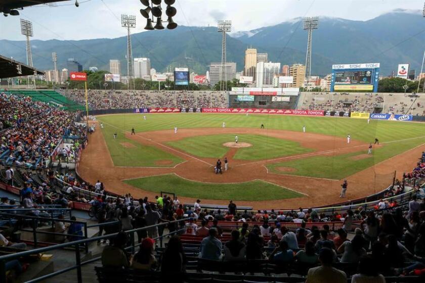 La novena de Lara venció 3-1 a los Bravos de Margarita para concretar su pase a la semifinal de la Liga Venezolana de Béisbol Profesional (LVBP). EFE/Archivo