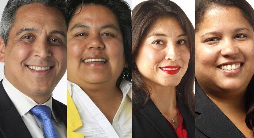 Ricardo Flores,  Georgette Gomez,  Araceli Martinez and Sarah Saez