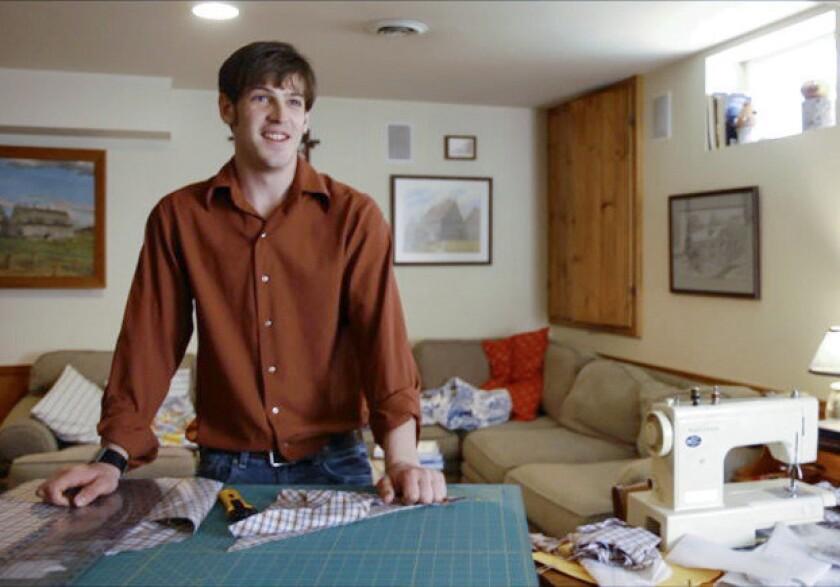 """Matt Bristol in TLC's """"Breaking Amish: Los Angeles."""""""