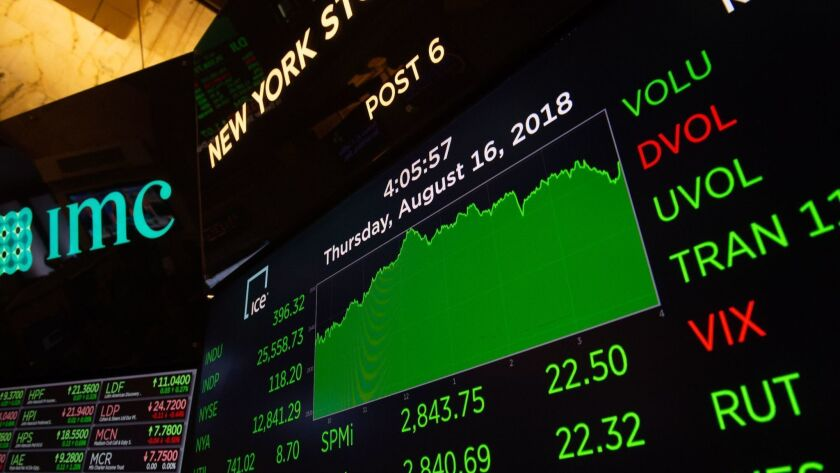 Stocks were strongly in the green Thursday, but what will workers get out of it?