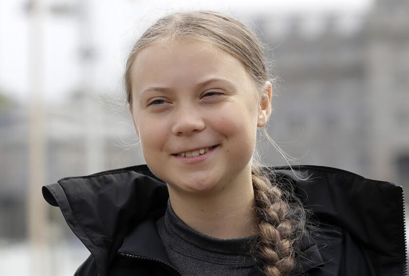 Climate activist Greta Thunberg