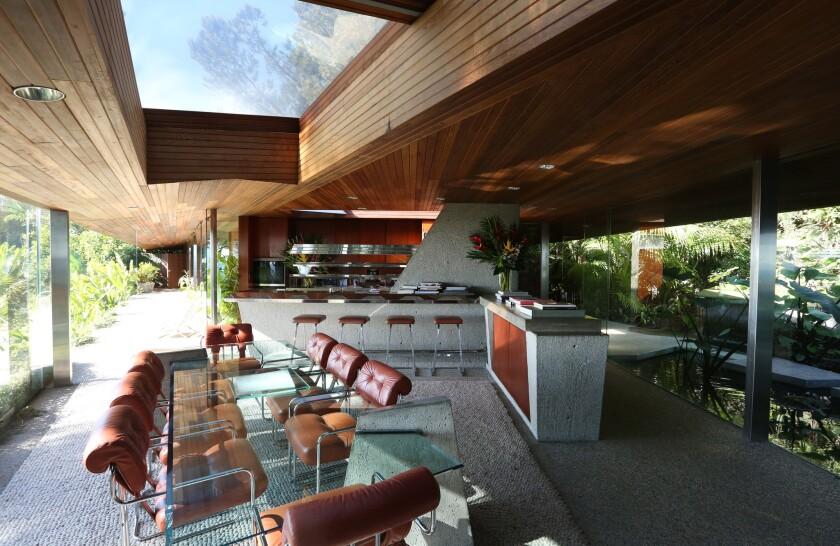 Jim Goldstein's John Lautner house