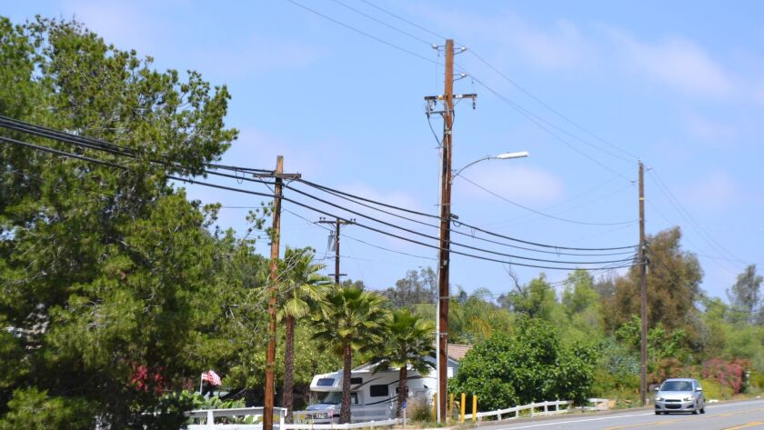 Plans call for the undergrounding of Espola Road utility lines to begin next summer. The work will t