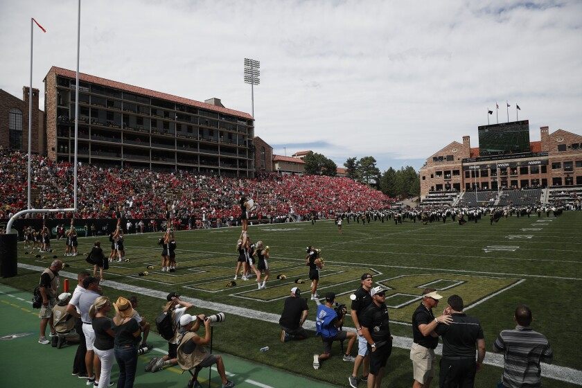 San Diego State will play a nonconference game at Colorado after losing its Mountain West game at Fresno.