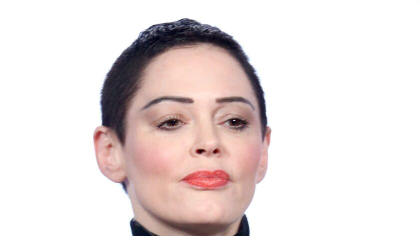 """Rose McGowan, producer and subject of the five-part E! series """"Citizen Rose."""""""