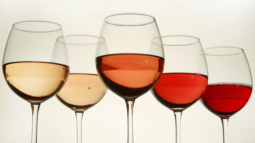 LOS ANGLES, CA., JULY 12, 2016-- A rosé is a type of wine that incorporates some of the color from t