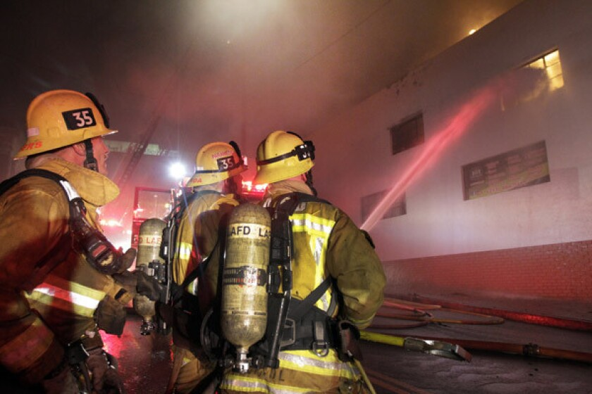 The number of firefighters in the ranks has dropped from more than 3,500 to 3,234.