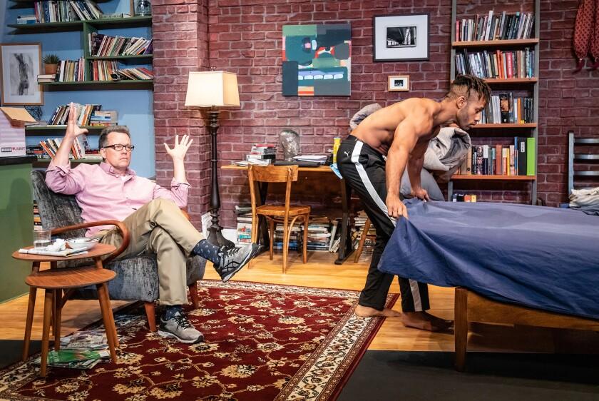 """Steven Culp and Michael Rishawn in """"Handjob"""""""