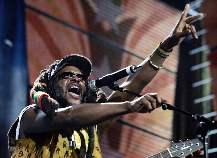 A photo of David Hinds from Steel Pulse