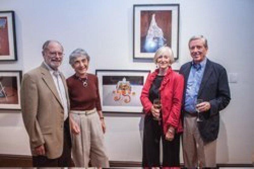 Athenaeum board members Larry Gartner, Carol Gartner, Ann Craig, and Bob Black