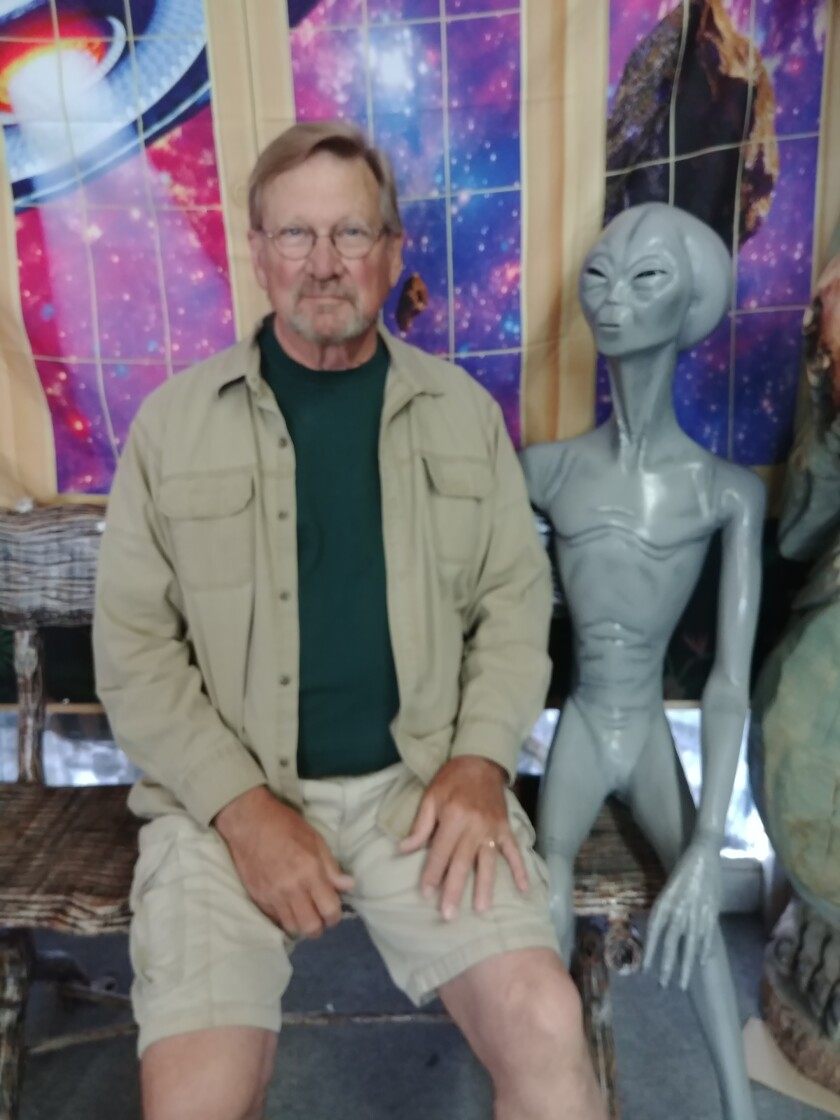 """John York, a Ramona winemaker, has just released his third book, the sci-fi tale """"The Eighth Day, A New Order."""""""