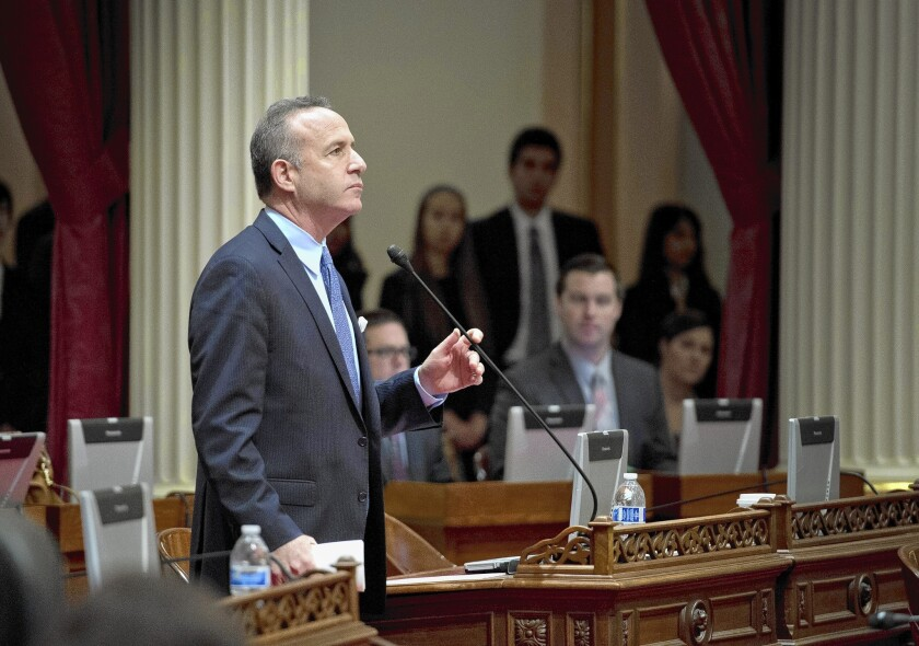 Senate President Pro Tem Darrell Steinberg wants to use cap-and-trade money for urban smart growth and mass transit.