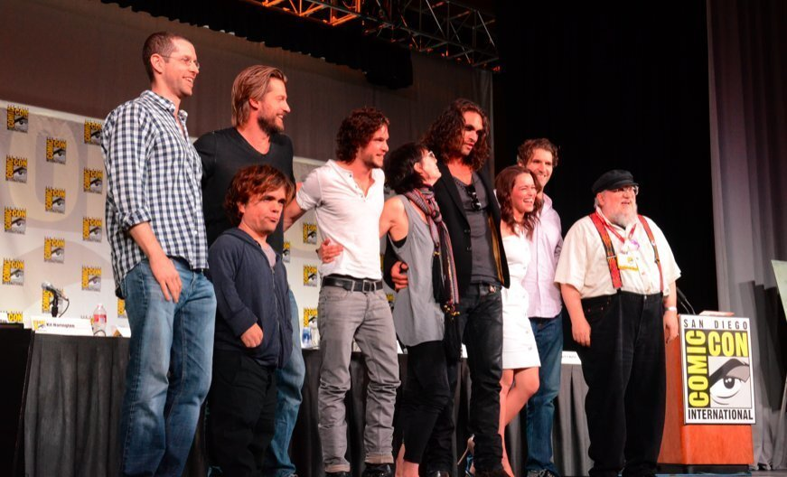 """2011: """"Game of Thrones"""" panel at Comic-Con"""