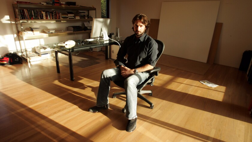 Mark Boal in his Los Angeles homes on Oct. 7, 2009. Boal filed a complaint Wednesday in a Los Angeles federal courtto block a subpoena of hisinterviews with Bowe Bergdahl.