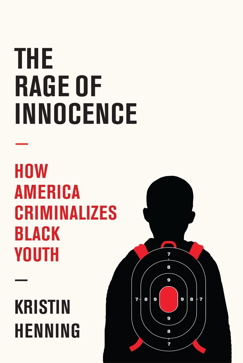 """A book cover of """"The Rage of Innocence"""""""