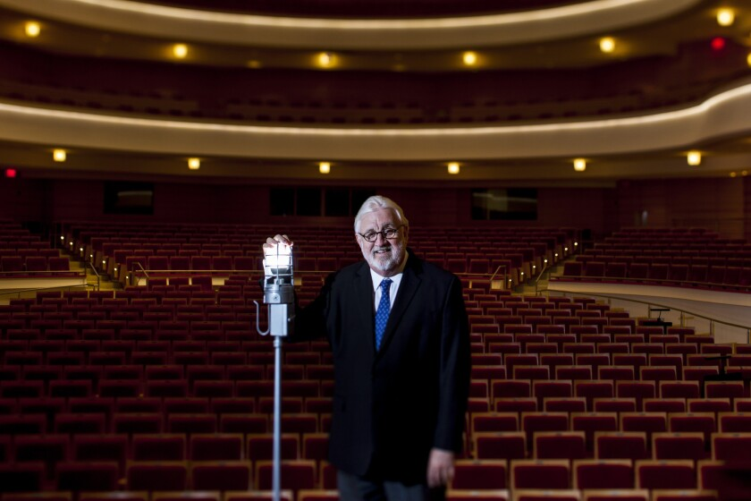 """Dean Corey, who has been with the Philharmonic Society of Orange County for 21 years, says classical music has a bright future but must make changes. """"First of all, it's too expensive,"""" he says."""