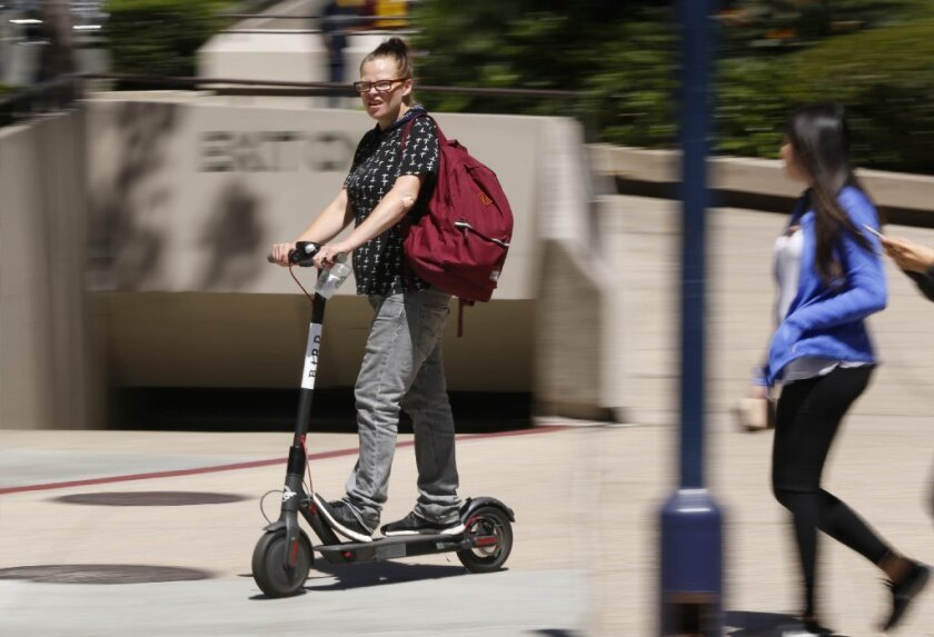 electric scooter san diego