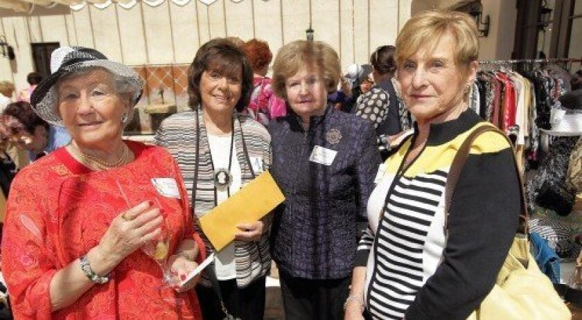 Florence Sachs, Lenore Shapp, Naomi Marblestone, Mitzi Lefton