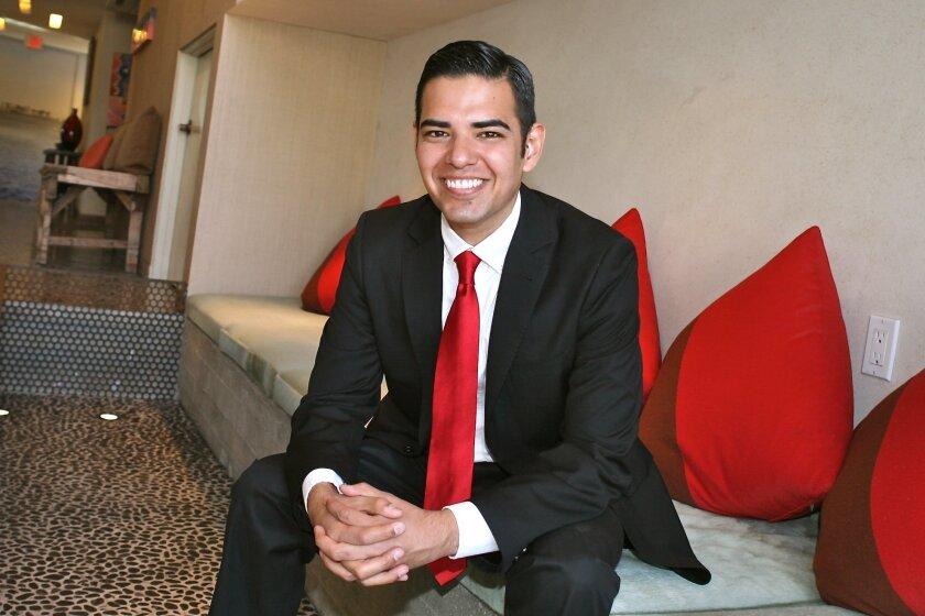 Long Beach Councilman Robert Garcia