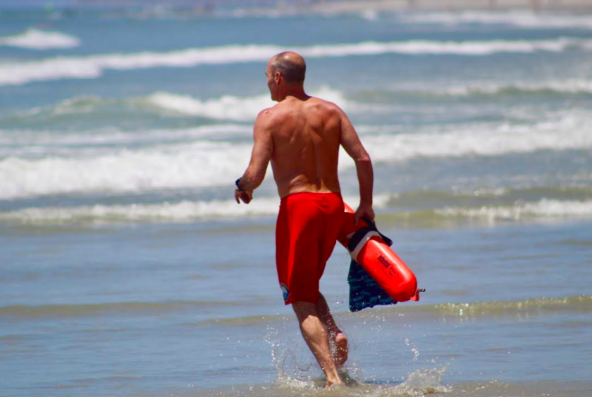 Expect strong rip currents