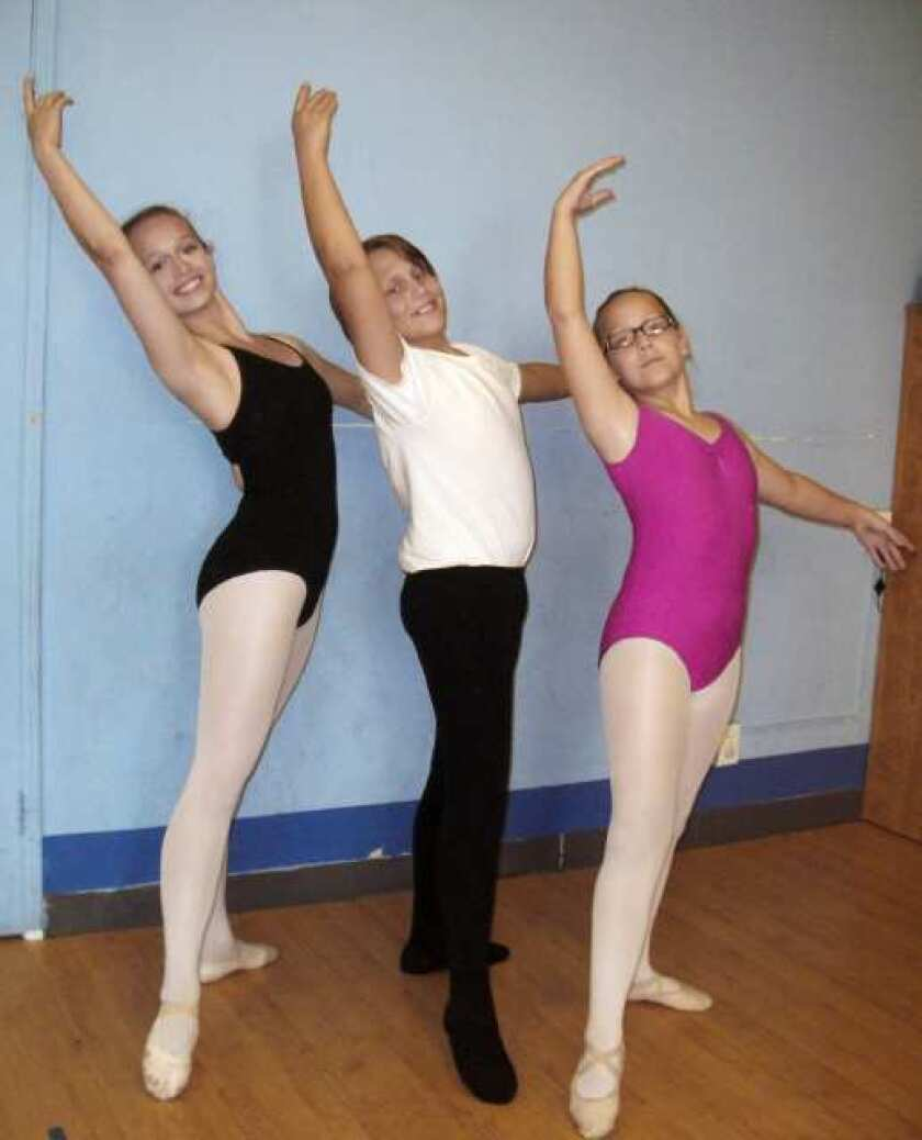 Local students dance into ballet programs