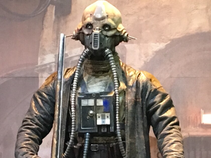 Edrio Two Tubes, a new Star Wars character, is revealed at Comic-Con.