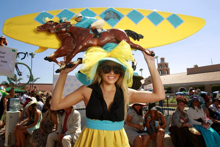 Del Mar Opening Day Hats