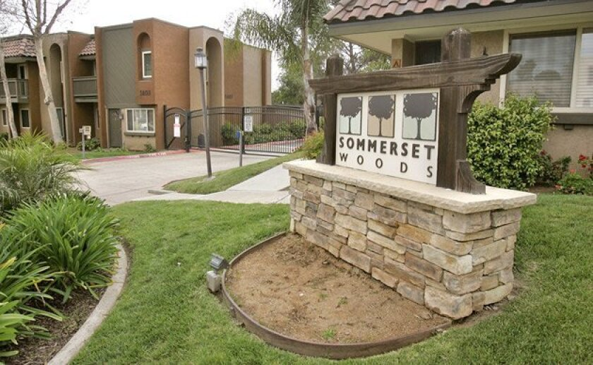 Investors say they were recruited to buy into three condo conversion  projects in North County, one of which was the the 112-unit Sommerset  Woods in Escondido. (Charlie Neuman / Union-Tribune)