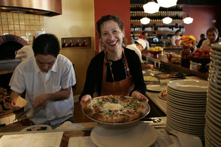 Nancy Silverton of Pizzeria Mozza. NELVIN C. CEPEDA • U-T
