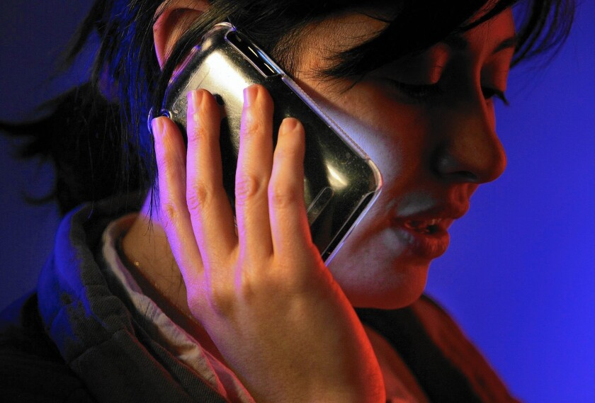 Not leaving a cellphone message is not the same as leaving a message, Inga says.
