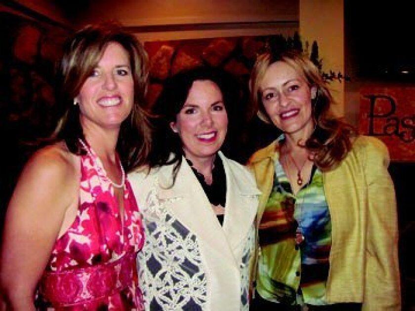 Melinda Mahony, Elaine Murphy and Kathryn Gayner