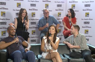 Comic-Con: Wishing there could be a body swap between Fitz and Mac on 'Agents of S.H.I.E.L.D.'...