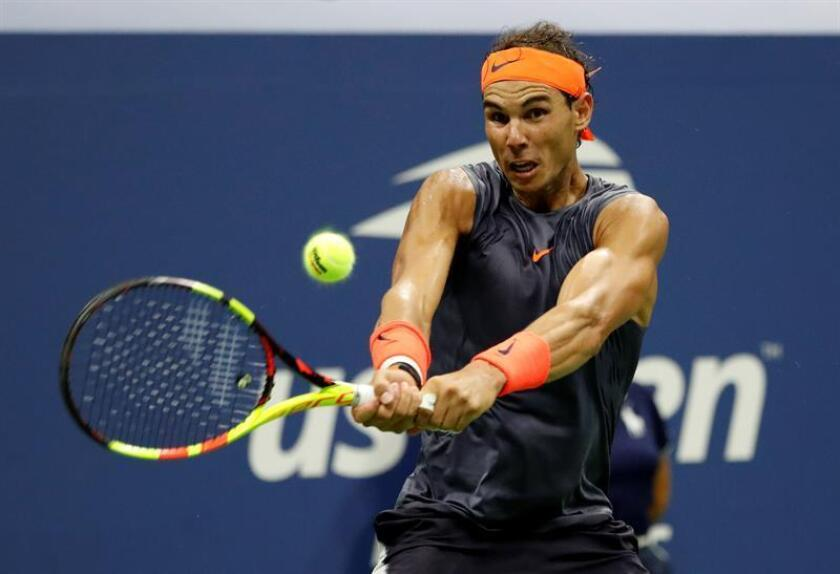 Spanish tennis great Rafael Nadal competes at the US Open in New York. EPA-EFE/File