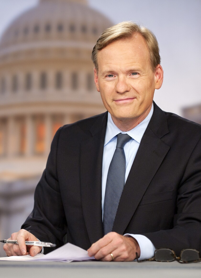 """John Dickerson, the newest moderator of """"Face the Nation."""""""