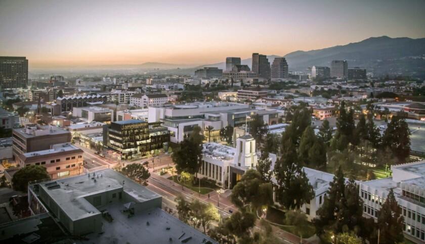 Janoian building downtown Glendale