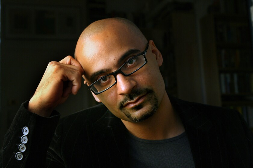 Pulitzer-Prize-winning author Junot Diaz.