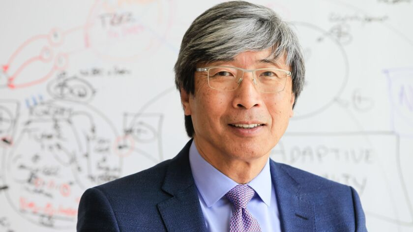 SAN DIEGO, CA April 4th 2018 | Dr. Patrick Soon-Shiong, the new owner of the San Diego Union Tribune