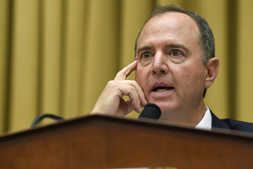 Rep. Adam Schiff (D-Burbank), chairman of the House Intelligence Committee, says a whistleblower complaint was filed about a month ago.