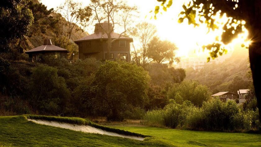 Guests can golf, hike nearby canyons and bicycle at the Ranch at Laguna Beach, which received a four-diamond rating from AAA on Thursday.