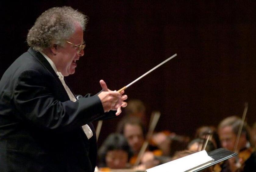 El director de orquesta estadounidense James Levine. EFE/ARCHIVO