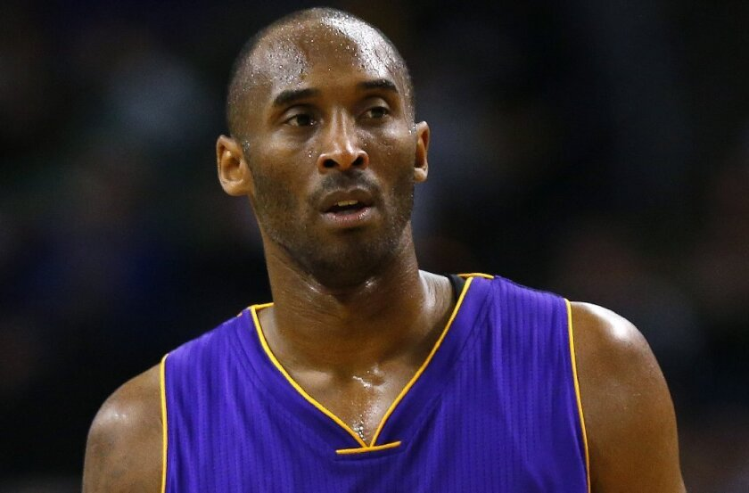 Has Kobe Bryant gone soft in his last season?