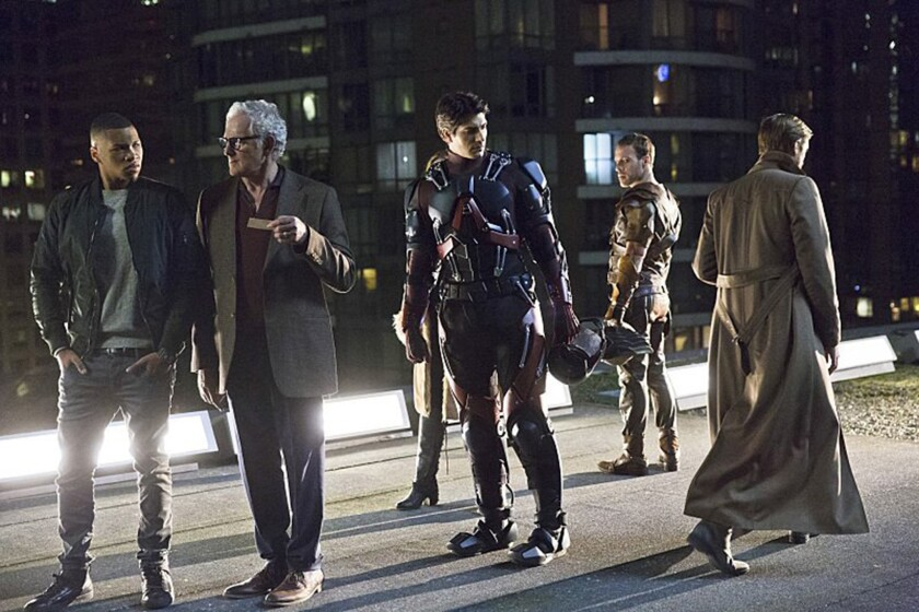 """Legends of Tomorrow"" on the CW features a team of superheroes fighting the destruction of the Earth by an evil mastermind."