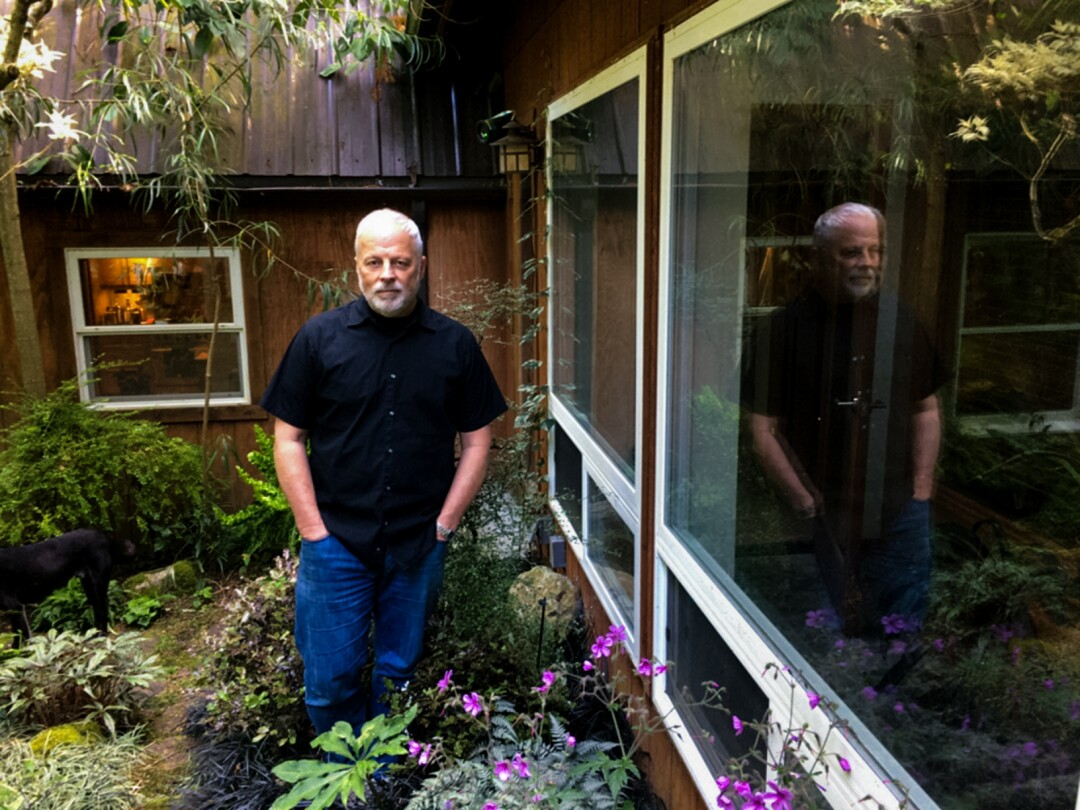 Warren Read outside his home in Washington state.