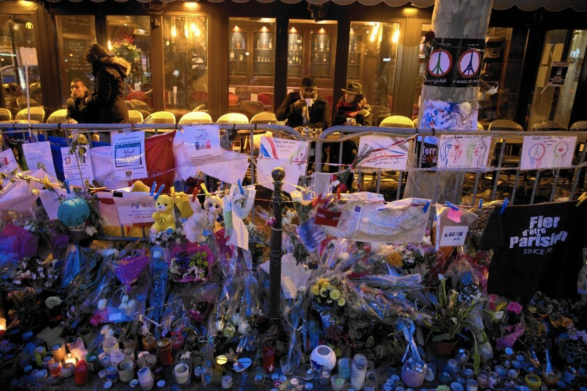 French cafe reopens after Paris attacks