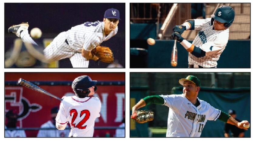 Taking a glance at San Diego State, USD, UC San Diego and Point Loma Nazarene on the weekend in college baseball.