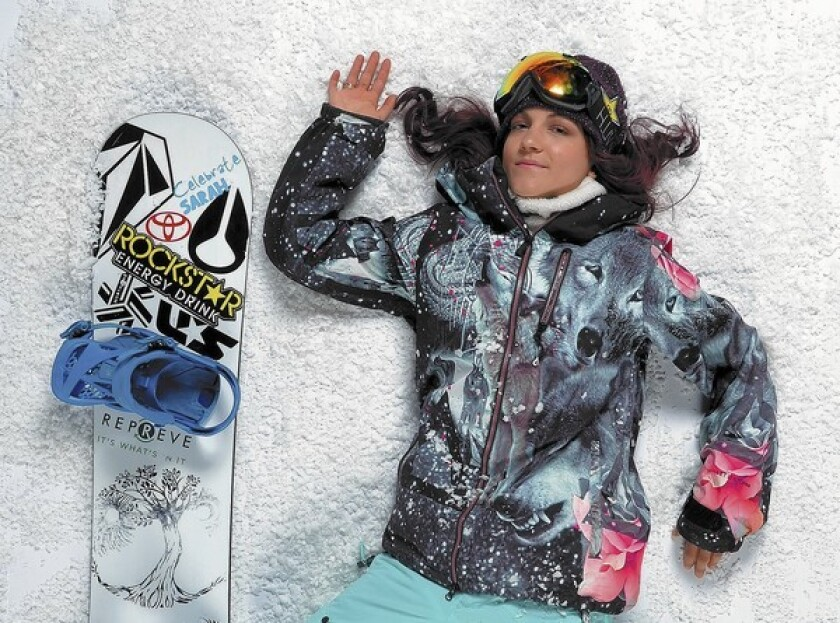 Snowboarder Elena Hight is expected to compete in the Winter Olympics in Sochi, Russia.