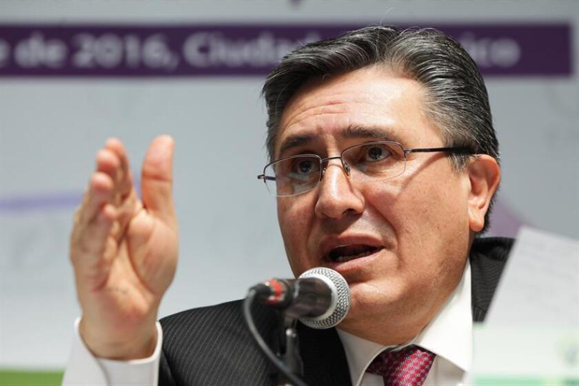 El presidente de la Comisión Nacional de Derechos Humanos (CNDH), Luis Raúl González. EFE/Archivo