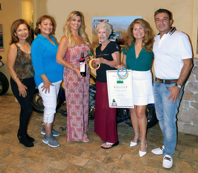 Committee for the Sept. 22, 2019 La Cañada Wine and Food Tasting