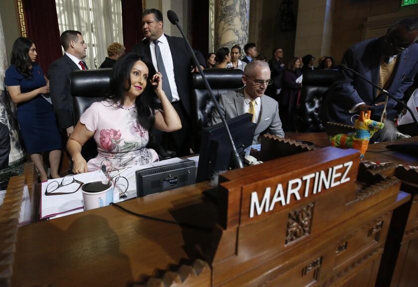 Los Angeles City Councilwoman Nury Martinez